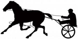 let the horse pull the cart