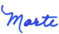 Marte Cliff signature