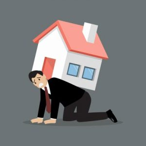 the burden of unrented investment property