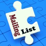 separate your mailing lists