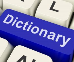 make a good first impression when you use your dictionary