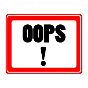 Don't make this blogging mistake
