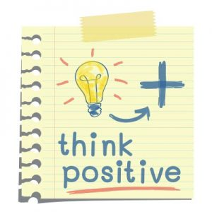 positive thoughts and words attract more real estate referrals