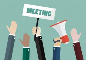 attend meetings and list real estate