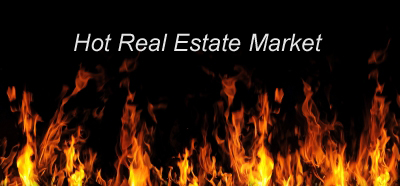 When the real estate market is hot... promote!