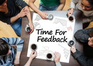 ask for feedback after every transaction
