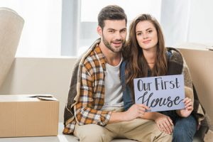 Fist time buyers are proud of their homes